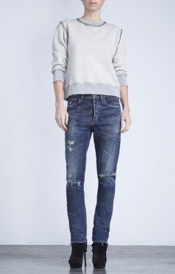 Citizens of Humanity, Corey Slouchy Slim in Bourbon