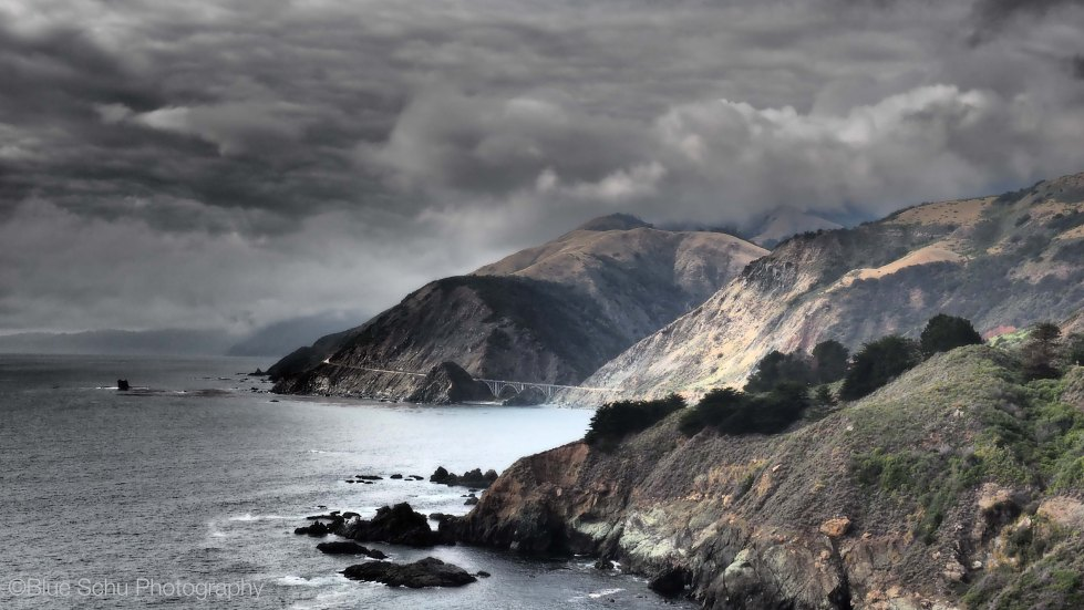 Stormy Pacific Coast Highway
